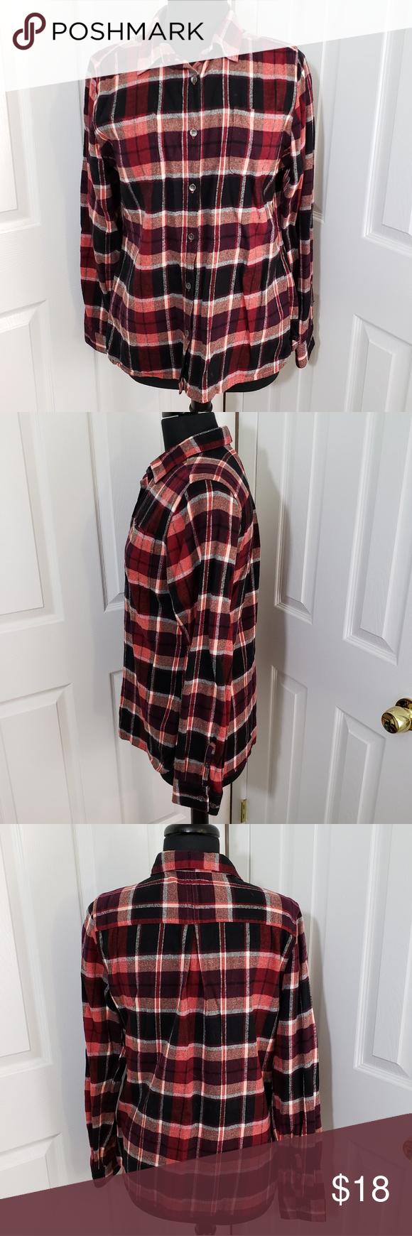 Woolrich Flannel Button-down