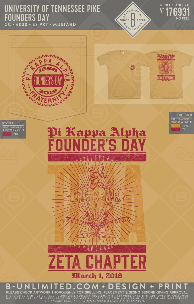 Buonyou Greek Greektshirts Greekshirts Fraternity Foundersday Pikappaalpha Universityoftennesee Cr Founders Day Pi Kappa Alpha University Of Tennessee