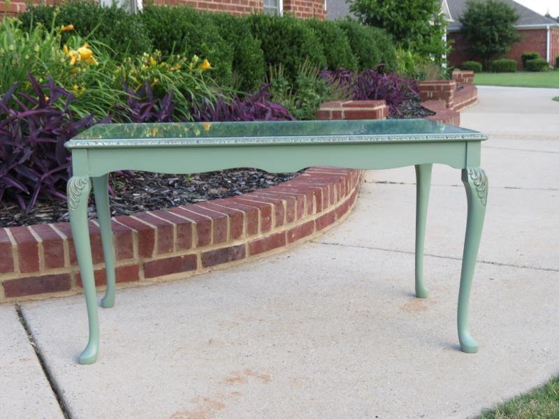 Sage Green Coffee Table $125