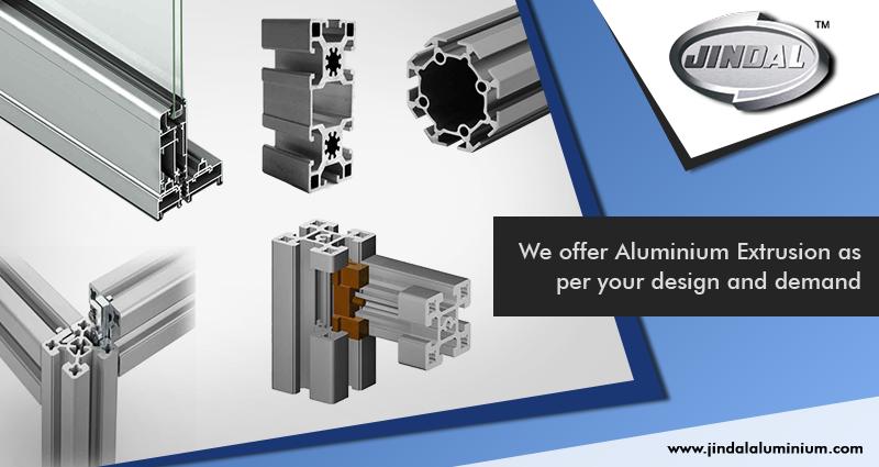 Jindal Aluminium Limited offer Aluminium Extrusion as per