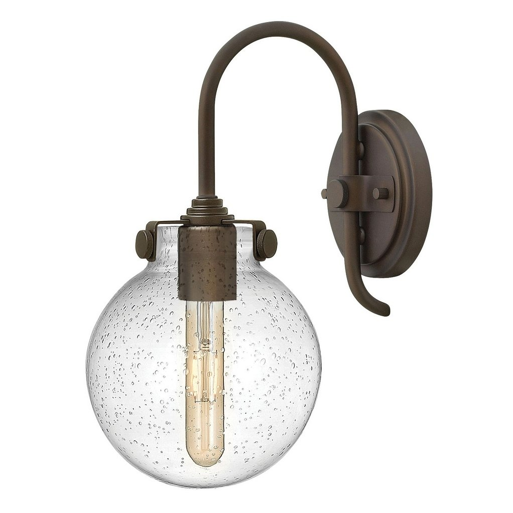 Hinkley Congress 1 Light Sconce In Oil Rubbed Bronze Brown