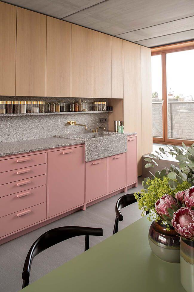 Best Pin By Alisya Umari On R O O M In 2019 Pink Kitchen 640 x 480