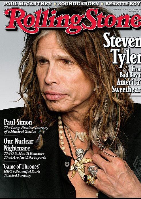 Steven Tyler On Rolling Stone Magazine Steven Tyler Rolling Stones Magazine Steven Tyler Aerosmith