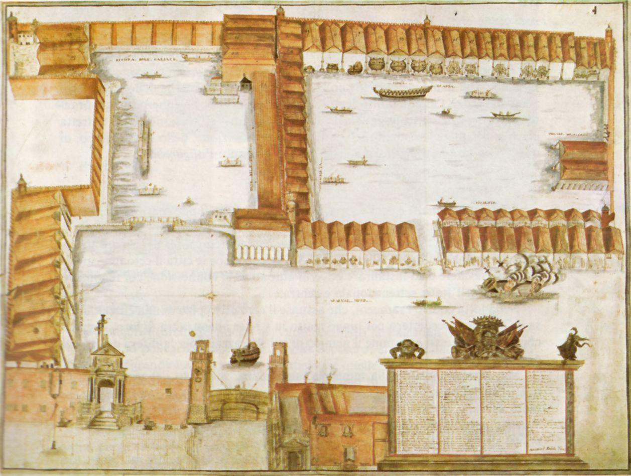 venezia Arsenale.immagine storica