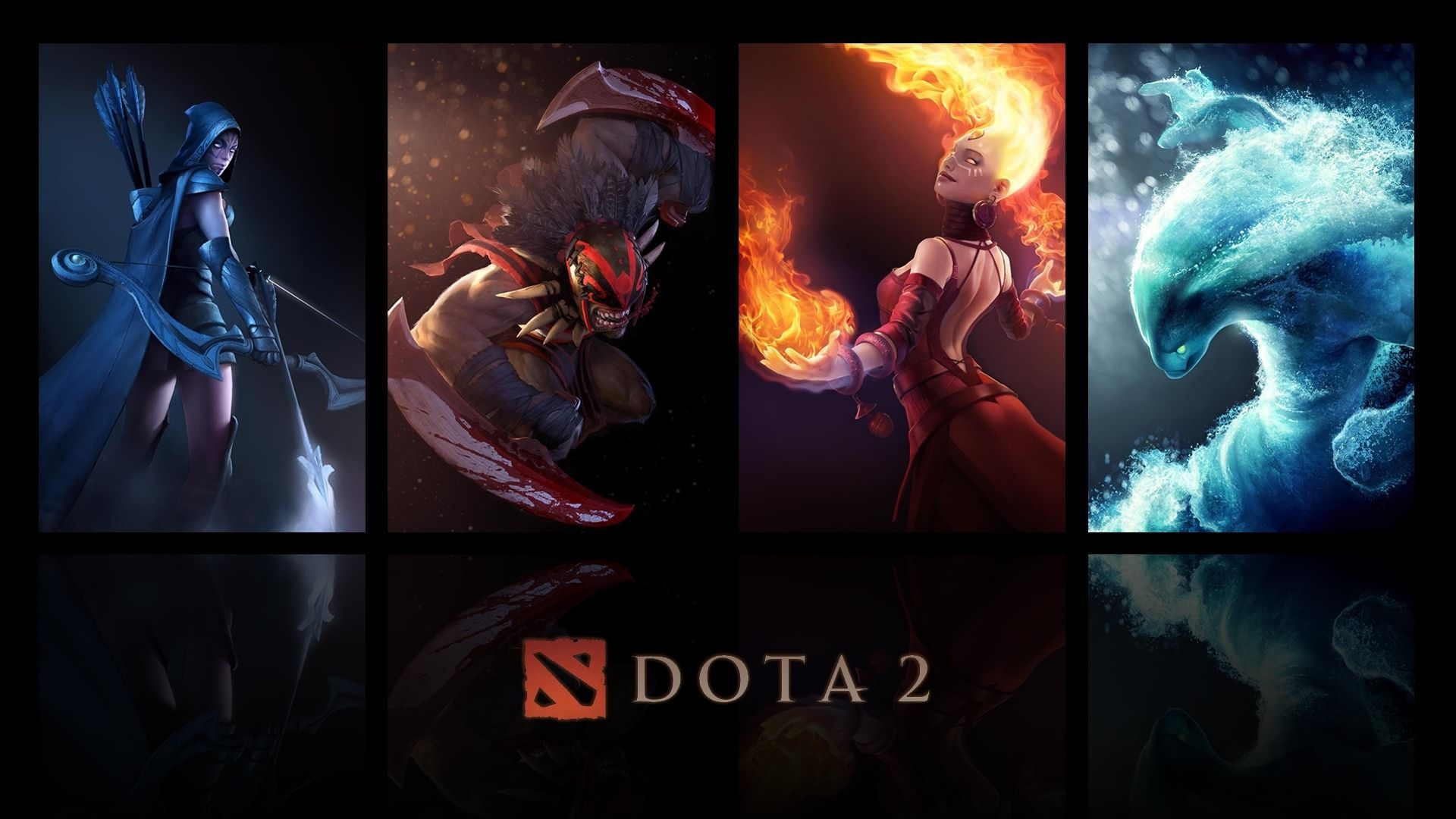 Dota 2 Heroes Wallpaper HD | Computer in 2019 | Dota 2