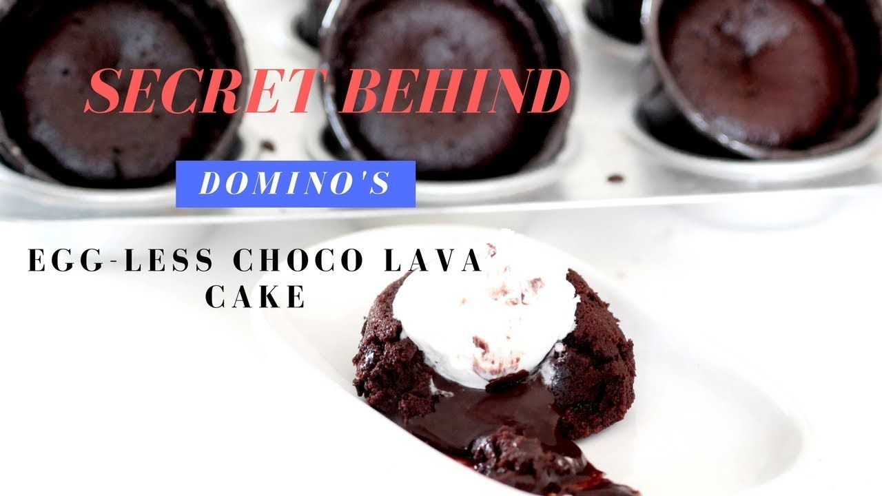 Dominos Choco Lava Cake Recipe - Molten Lava Cake - Eggless ...