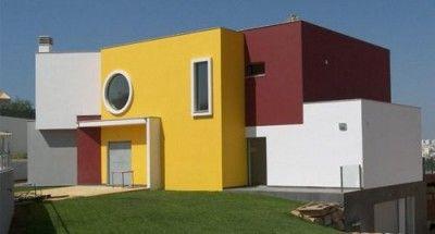 pintura para exteriores de casas dramatico