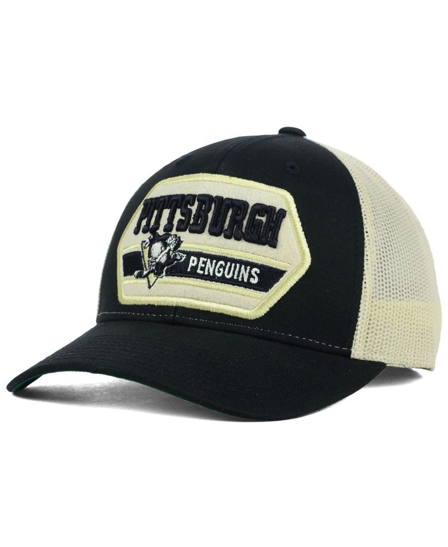 75582a89 Ccm Pittsburgh Penguins Patched Trucker Cap | truckers hats ...