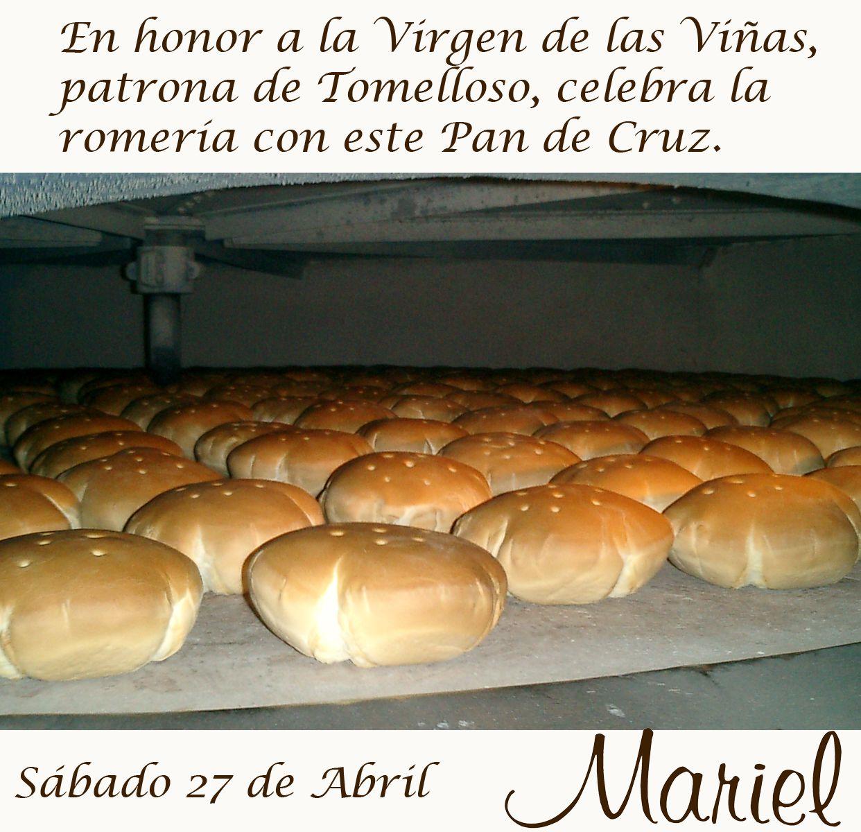 Romería De Tomelloso En Panadería Mariel Alicante9 Pan De Cruz O Candeal Pan Panadería Romeria