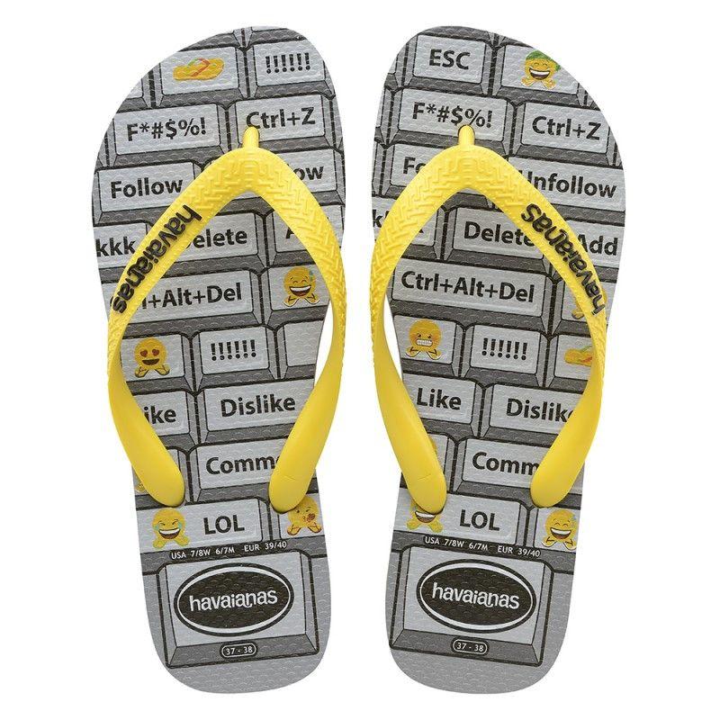 bf32b8e2bcc71 Mens Flip Flops · Roxy · Korean Women · Flipping · Spanish · Men · Havaianas  Mood Grey Steel Yellow 플롭스 Price From  ₩18