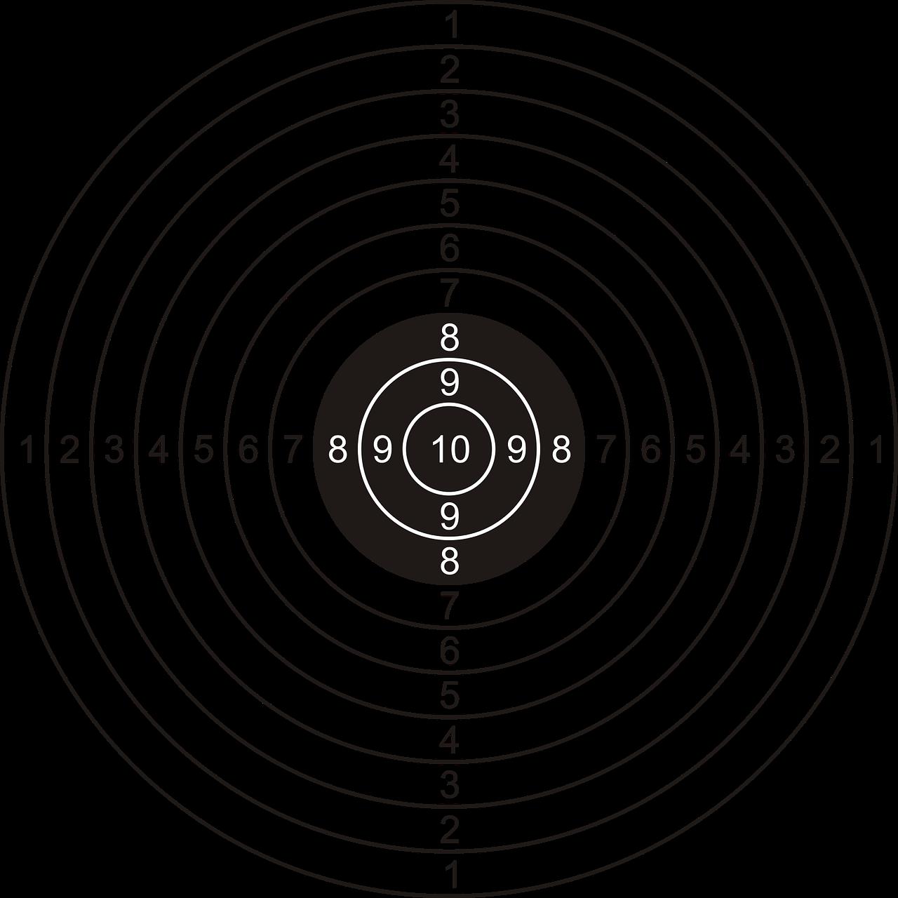 Gratis Obraz Na Pixabay Tarcza Strzelecka Tarcza Paper Shooting Targets Paper Targets Shooting Targets