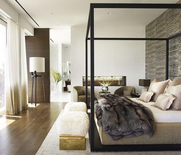 wohntrends breite und gemütliche schlafzimmer   Einrichtungsideen ...