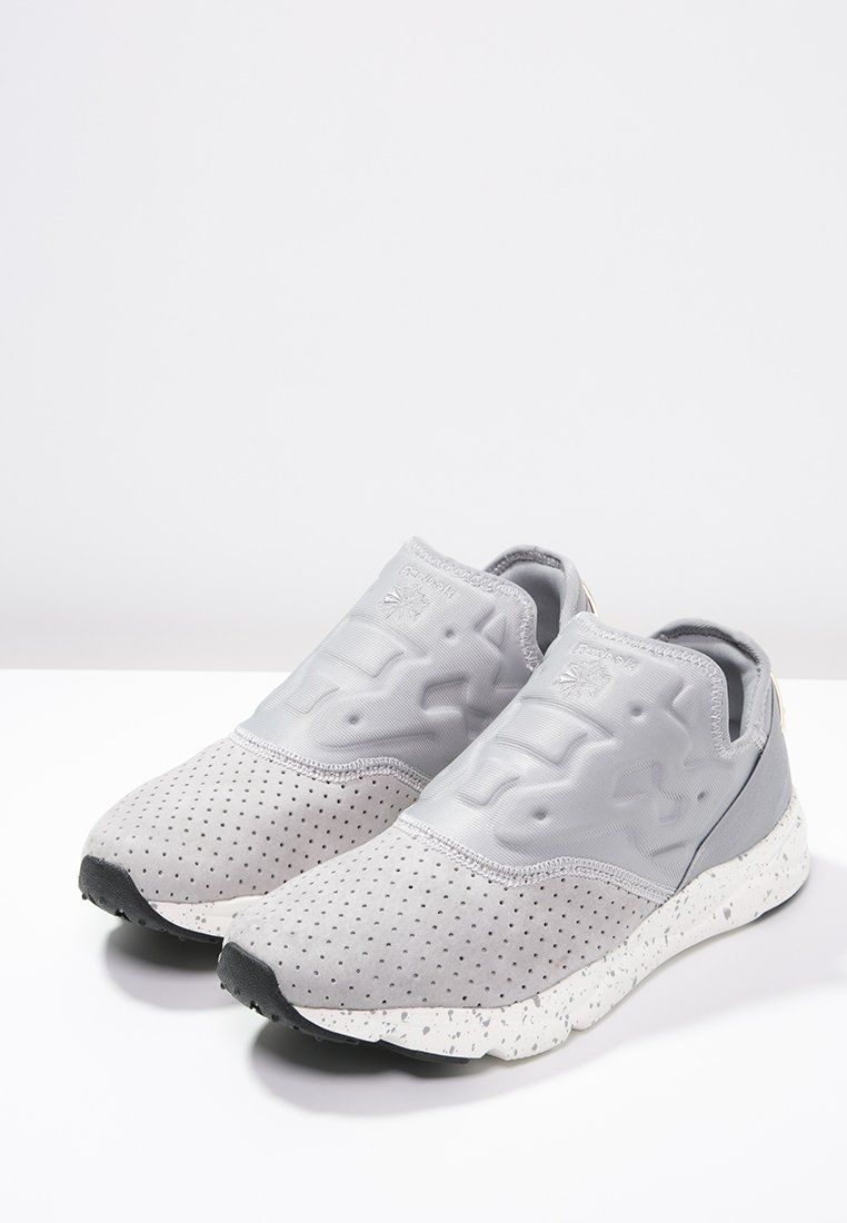Reebok Classic FURYLITE LUX - Slip-ons - tin grey chalk brass for £70.00  (19 01 16) with free delivery at Zalando 5c7bfb99e