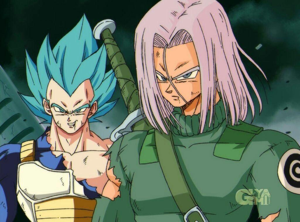 d5c9636a Vegeta and Future Trunks Dragon Ball Z style   Dragon Ball   Dragon ...