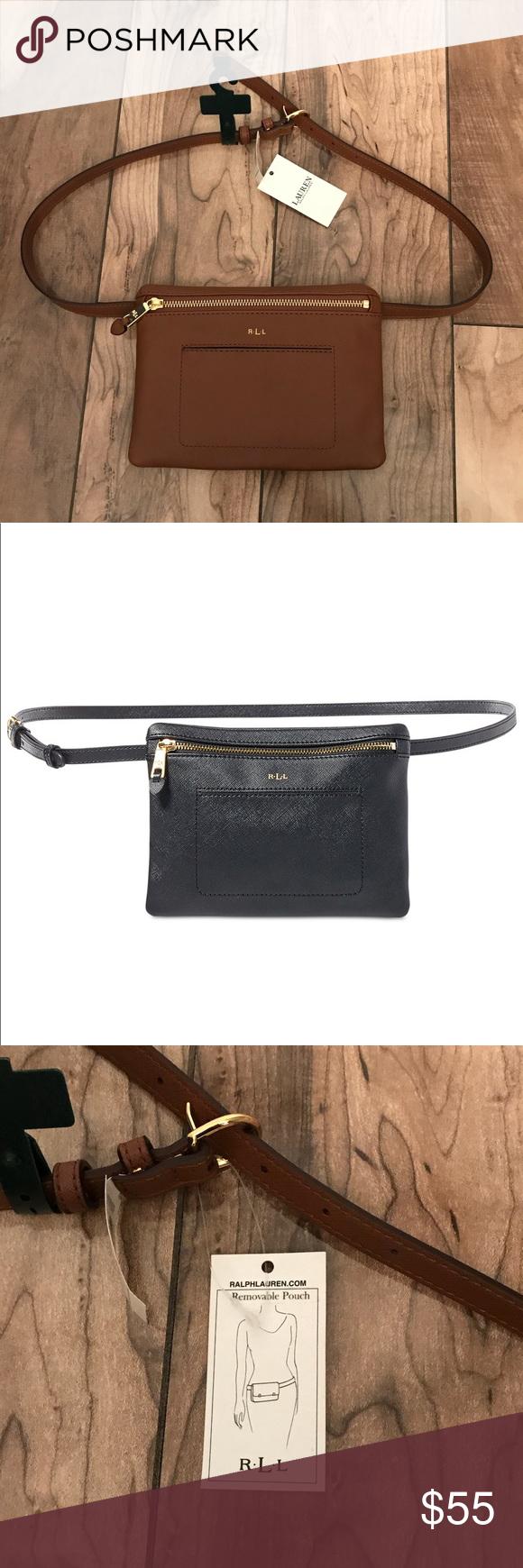 f4831a488bb Lauren Ralph Lauren Winston Fanny Pack Faux leather belt bag is a ...