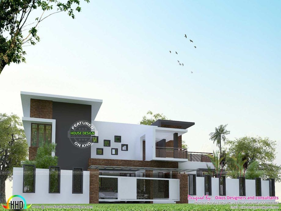 Home decor new boundary wall design in kerala images with incredible house port walls 2018