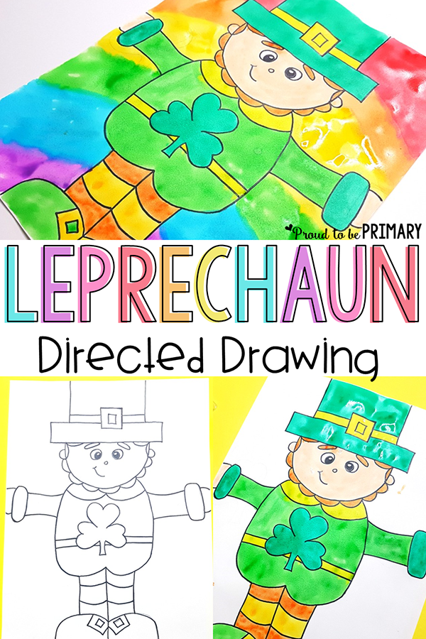 March Art For Your Walls How To Draw A Leprechaun Art