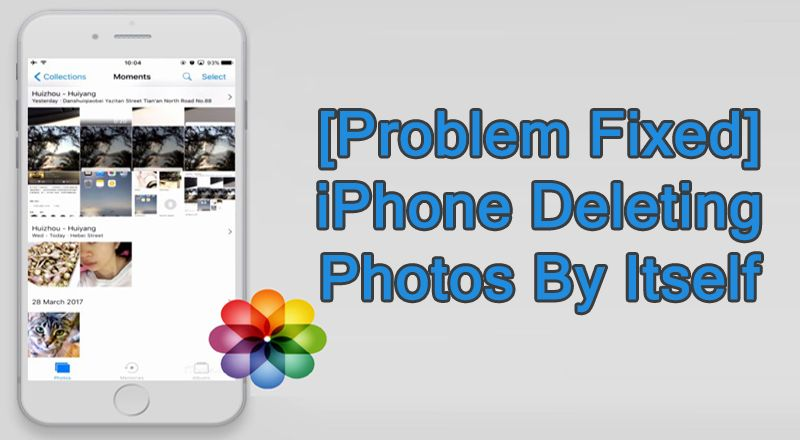 Problem Fixed Iphone Deleting Photos By Itself Iphone Recover