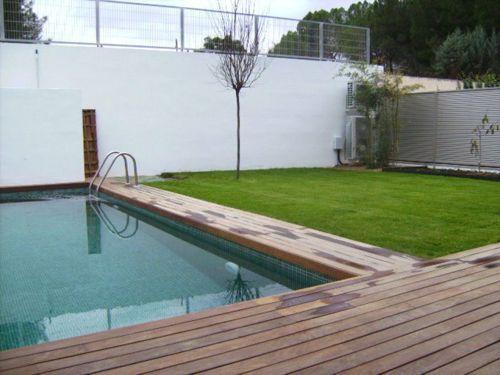 Resultado de imagen para patios con piscinas