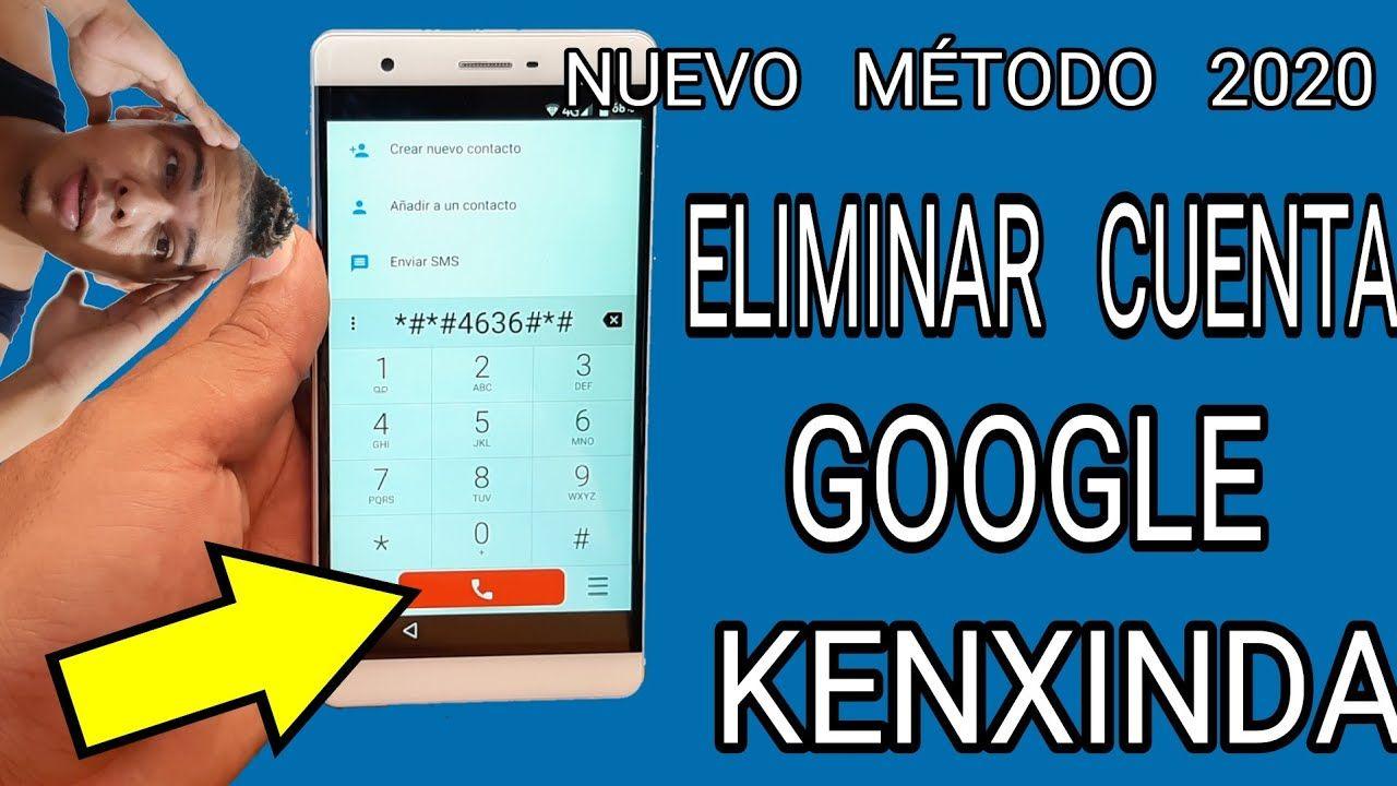 Eliminar cuenta google kenxinda r7s remove the account