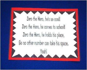 Zero The Hero - He's so Cool poem | Math - fun ways to learn ...