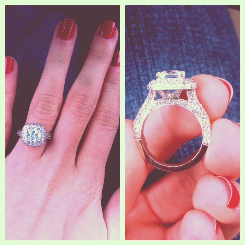 she is one lucky girl! That ring has amazing detail.   Girl\'s Best ...