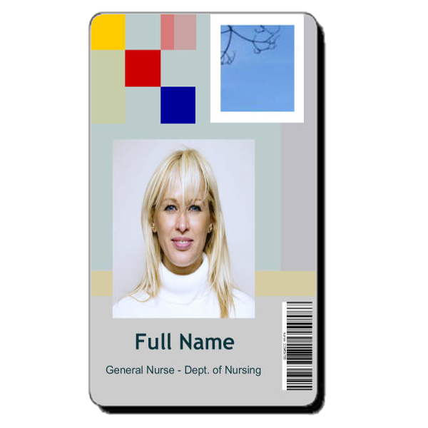 Doctor ID Cards Id Card Template Templates Badge Health Care