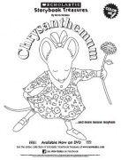 chrysanthemum on dvd coloring sheet kids printables scholastic storybook treasures - Chrysanthemum Book Coloring Pages