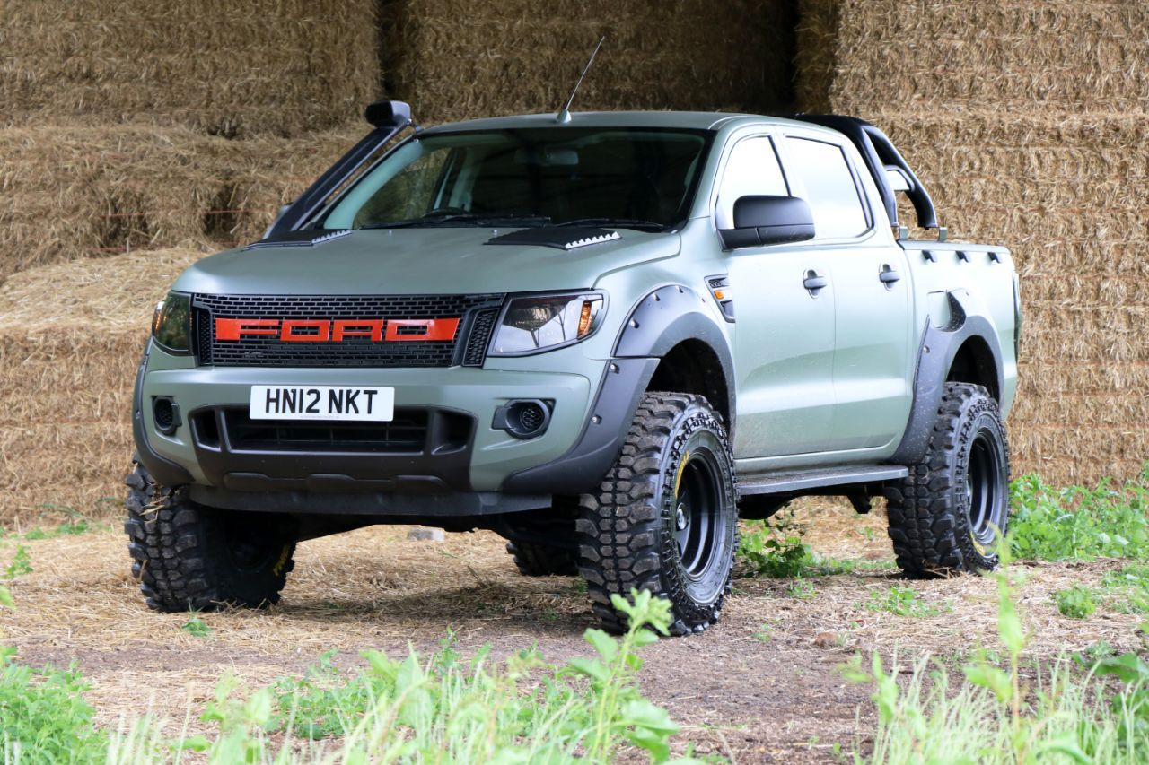 Used ford ranger pick up double cab camo seeker raptor edition 5 in build order now