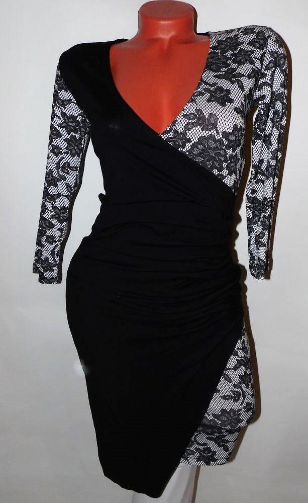 Csipke mintás ruha S/M - BettyFashion