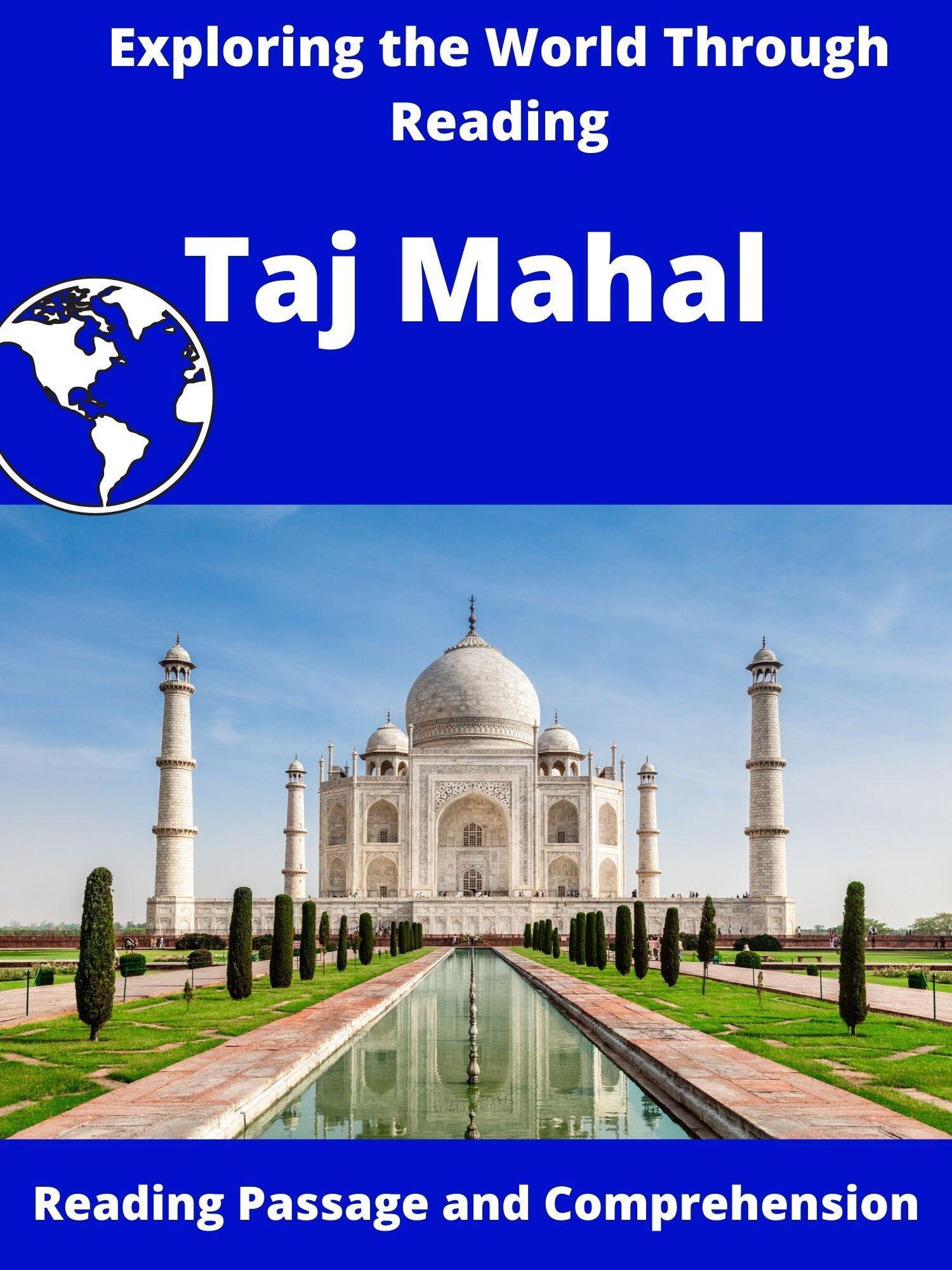 Taj Mahal Reading Passages Social Studies Middle School Upper Elementary Reading [ 2000 x 1500 Pixel ]