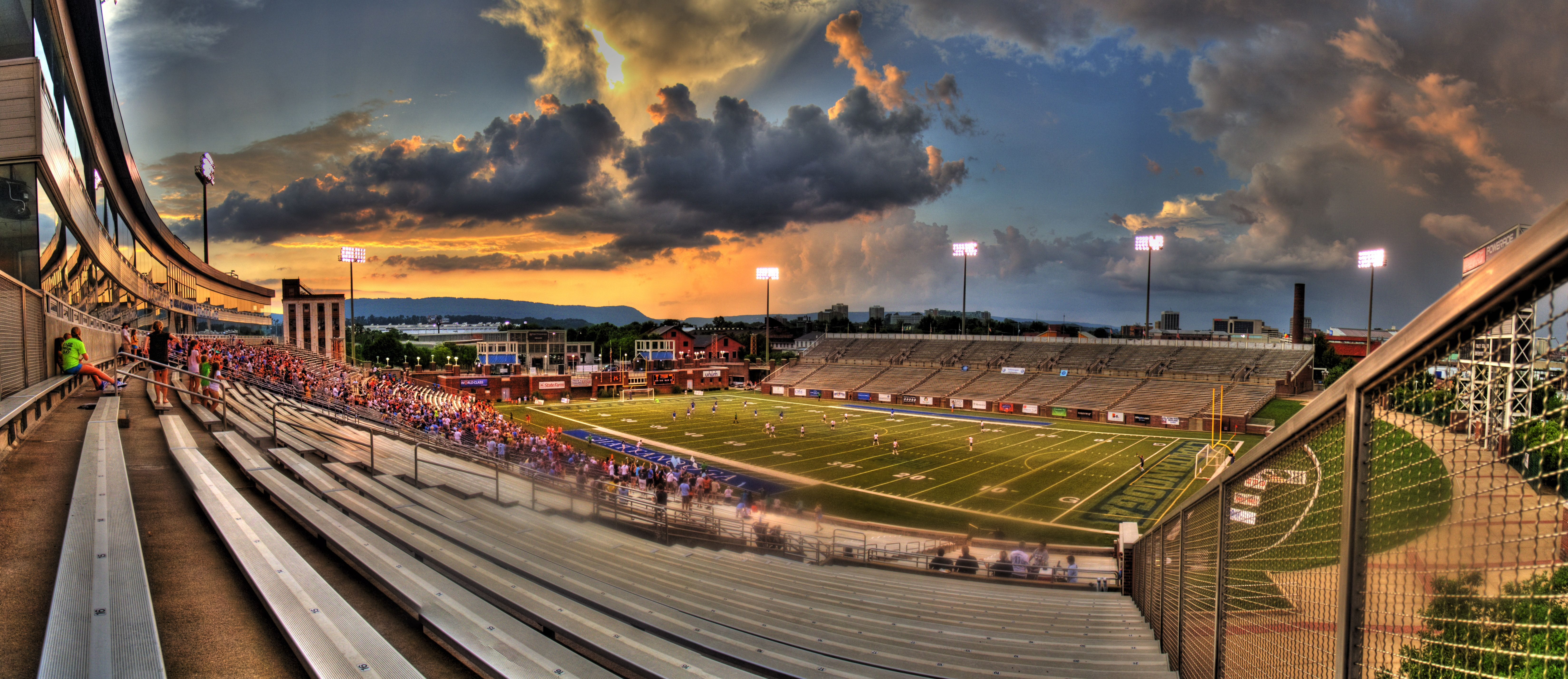 Finley Stadium, Chattanooga, TN. Home of the University of