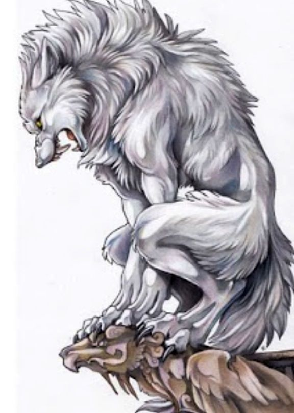 Awesome white werewolf | Werewolves | Pinterest | Werewolves