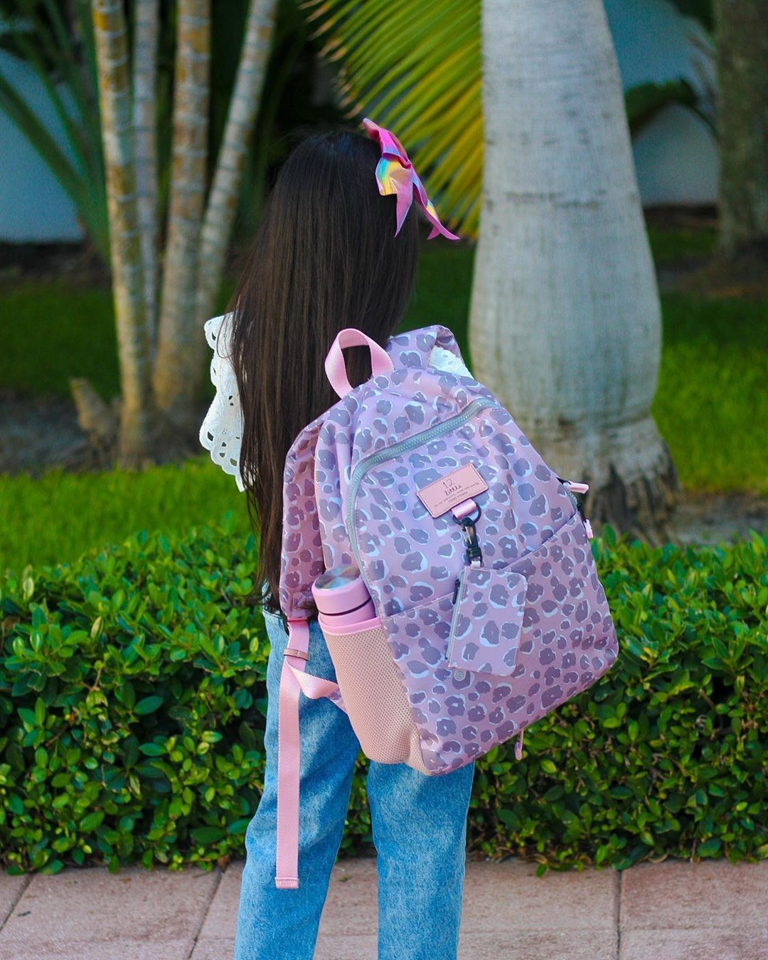 Our NEW Adventure Backpack in Pink Leopard is un-FURR-getable and sure to make heads turn! #backtoschool #schoolsupplies #backpack #adventure #musthave #kidsbag #12little @ashleyandmegan__