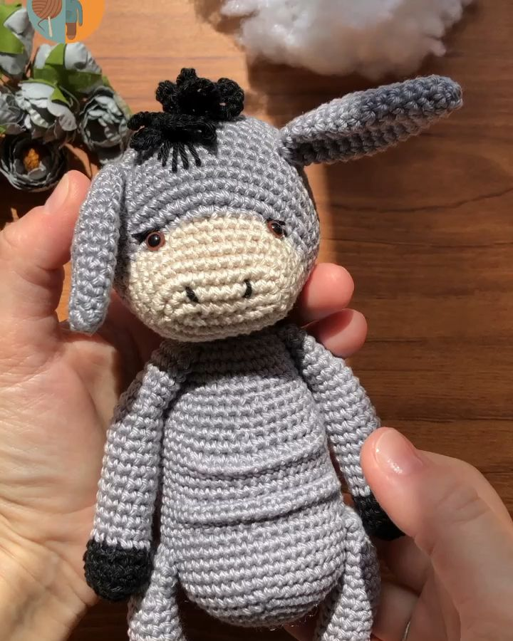 Photo of Crochet pattern donkey / amigurumi donkey / pdf pattern | Etsy