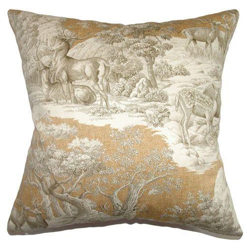 Feramin Toile Pillow Safari Front Pillows Throw Pillows And Products Impressive Safari Decorative Pillows