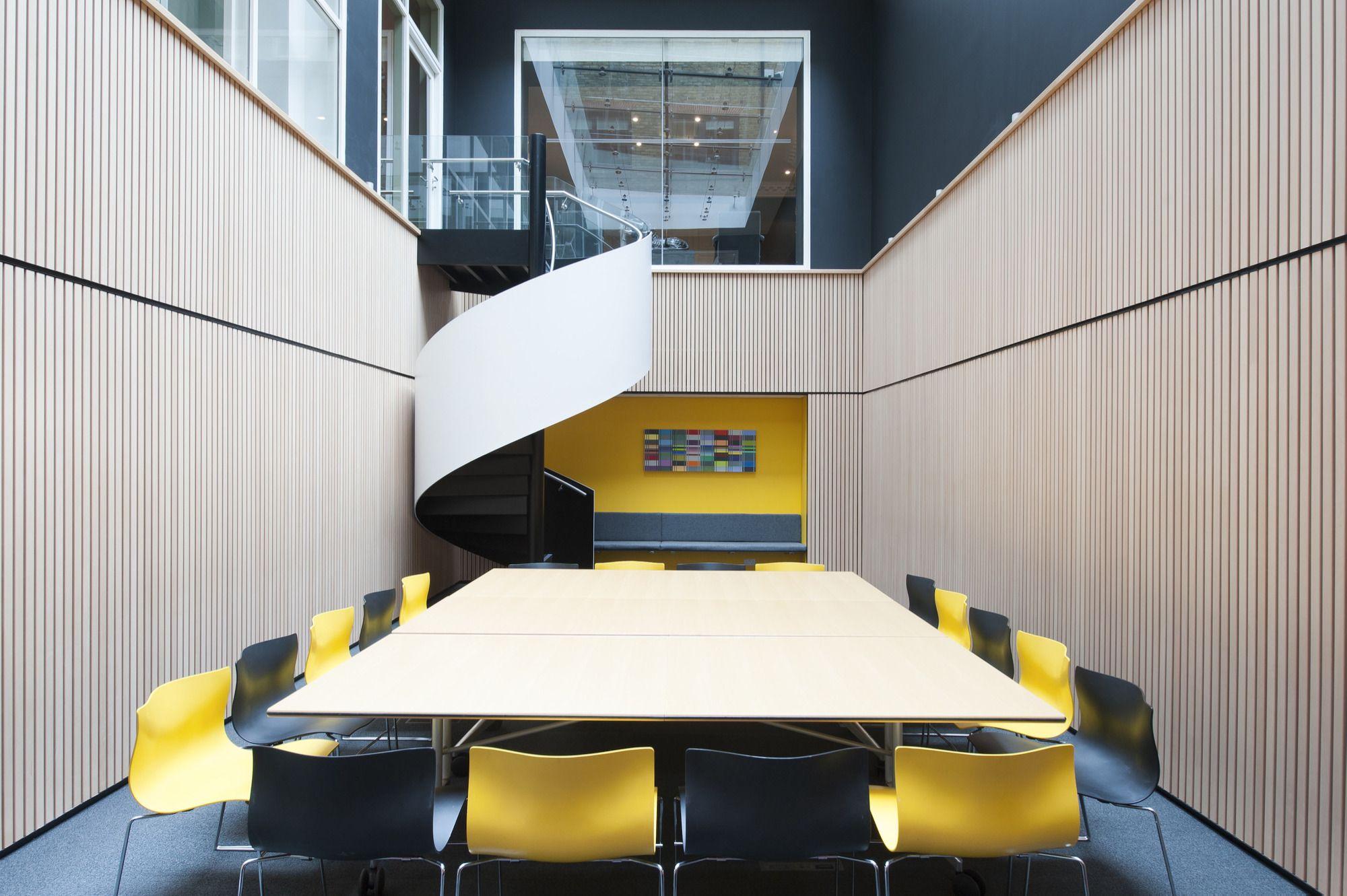 Reforma contemporânea para um escritório clássico em Mayfair / Brady Mallalieu Architects