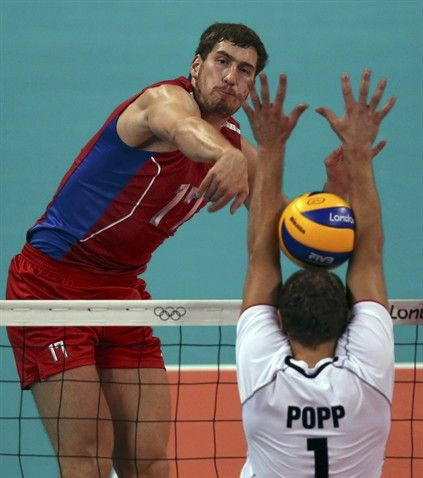 Men S Group B Russia Vs Germany Volleyball Slideshows Nbc Olympics Mens Volleyball Nbc Olympics Olympic Games