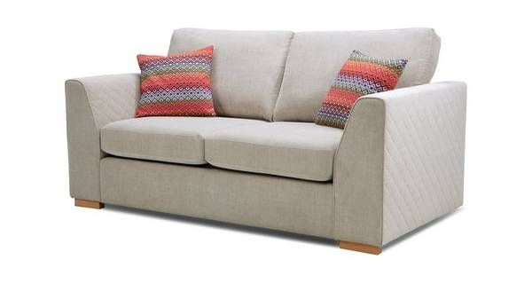 new arrival bfc2c f177e Tiki Large 2 Seater Deluxe Sofa Bed Sherbet | DFS | Home ...