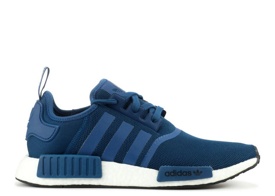 Adidaas NMD R1 Navy Navy White By3016 Factory Authentic Sneaker