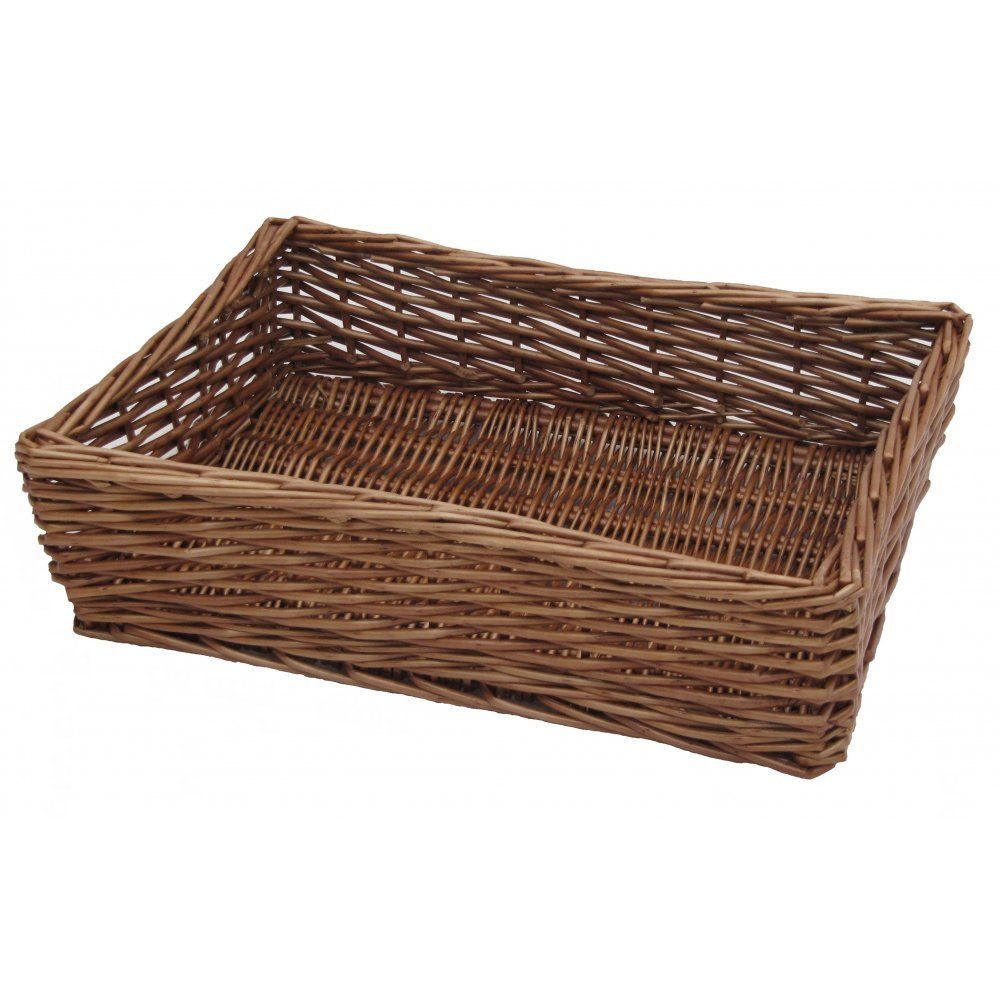 Padstow Wicker Willow Storage Tray Hamper Basket Bread Fruit Gift Large  Small In Home, Furniture U0026 DIY, Storage Solutions, Storage Baskets
