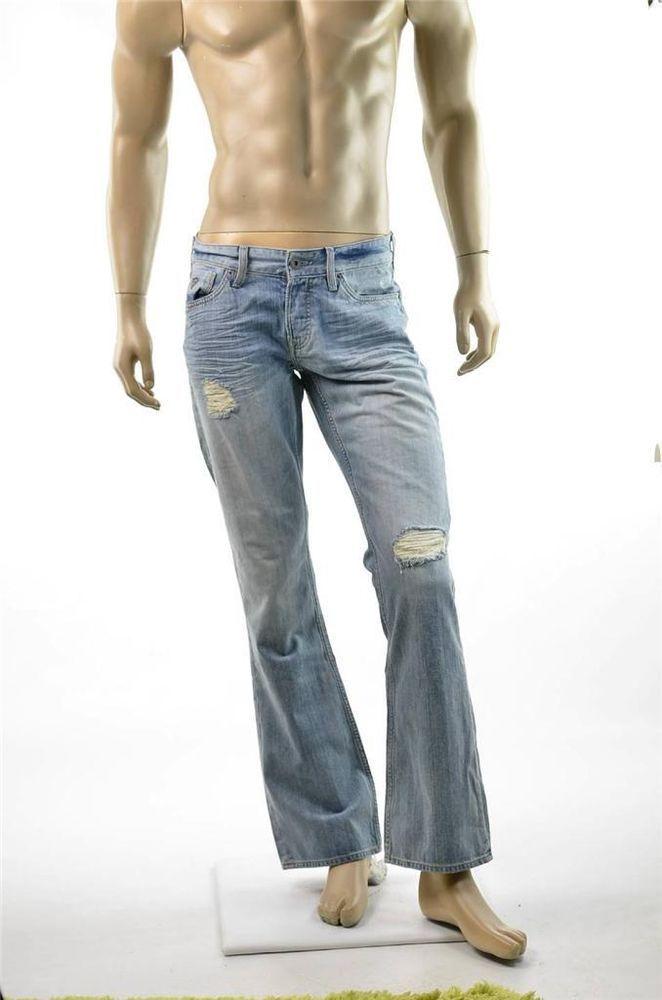 aec0febd024 Guess Jeans Low Rise Boot Regular Jeans Mens FALCON Denim Pants Sz 32 X 32  New #Guess #BootCut