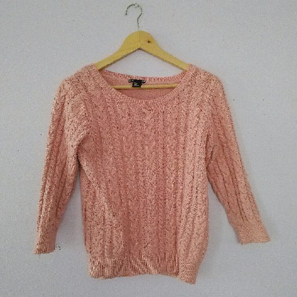 Pink sweater Knitted, warm and so cute H&M Sweaters Crew & Scoop Necks