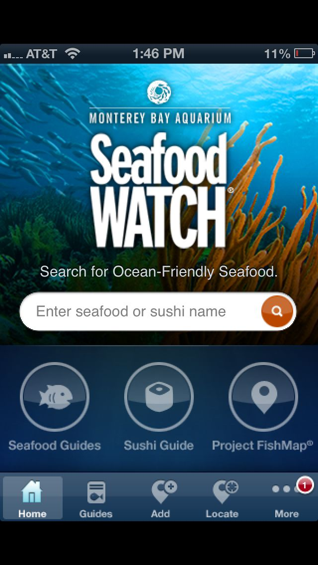 Get the free Seafood Watch app from Monterey Bay Aquarium ...