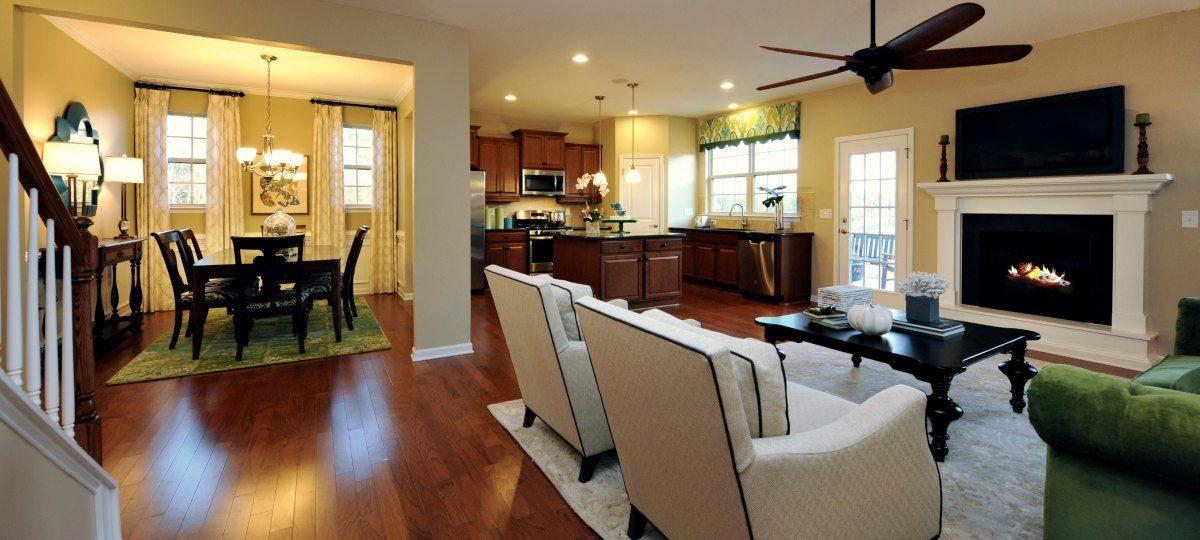 Spacious Mayflower Floorplan By Lennar Raleigh Open Space Living