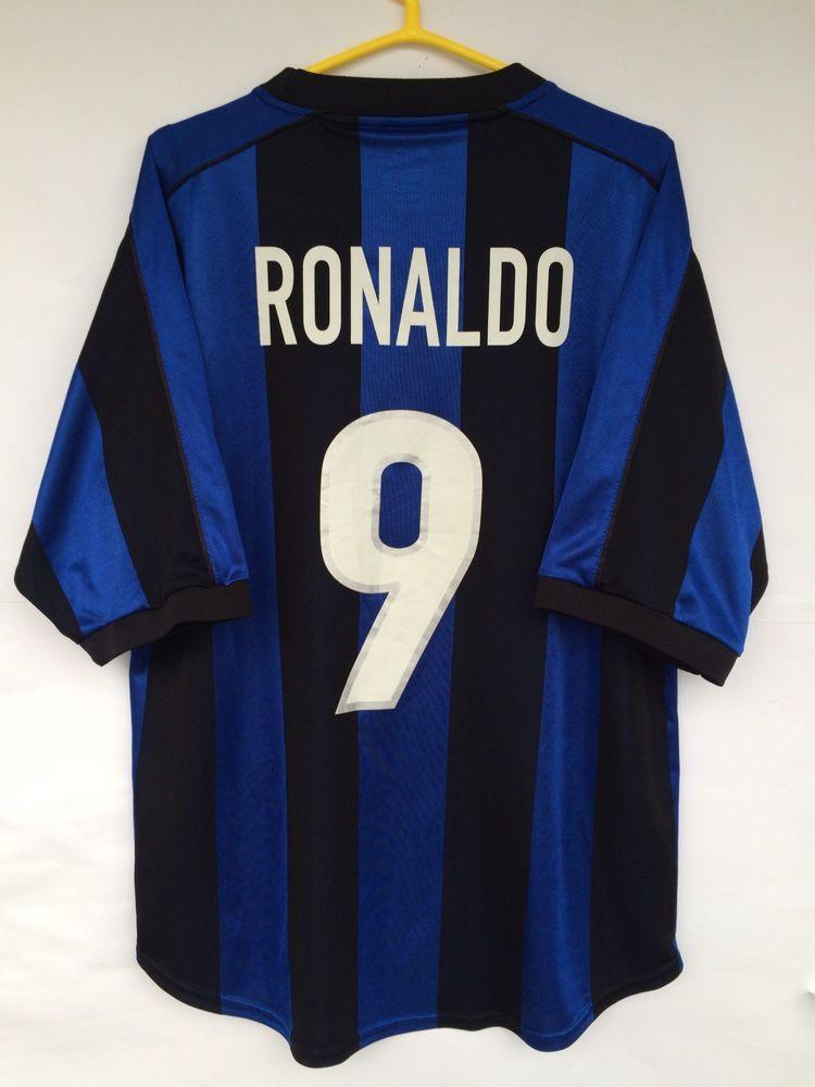 INTER MILAN 1999 2000 NIKE HOME FOOTBALL SOCCER SHIRT JERSEY MAGILA RONALDO  9 (eBay Link) b352157e9