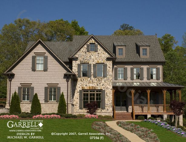Garrell Associates IncOxford F House Plan 07256Traditional