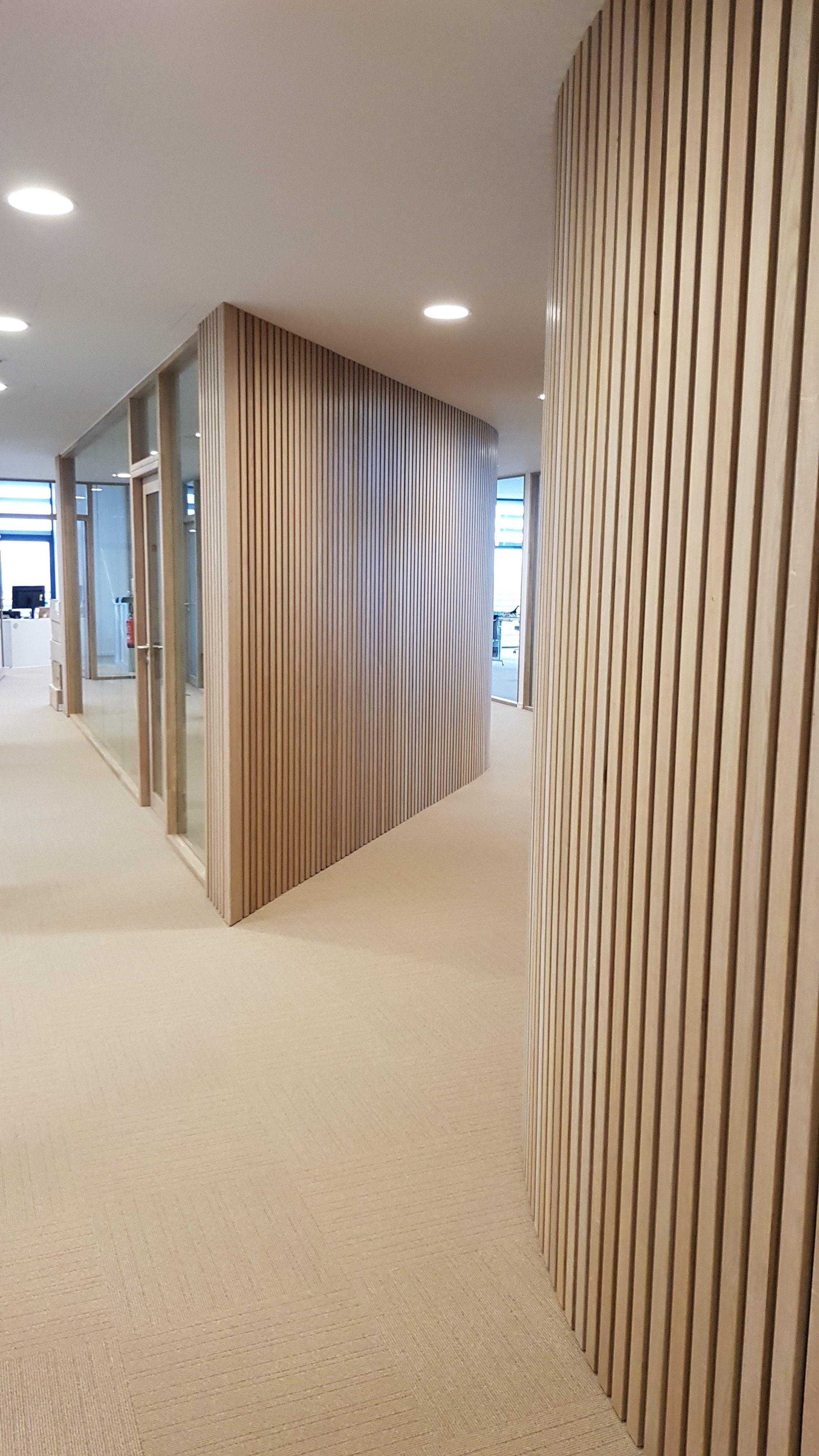 Cloisons Bois Bois Design Agencement Surmesure Menuiserie