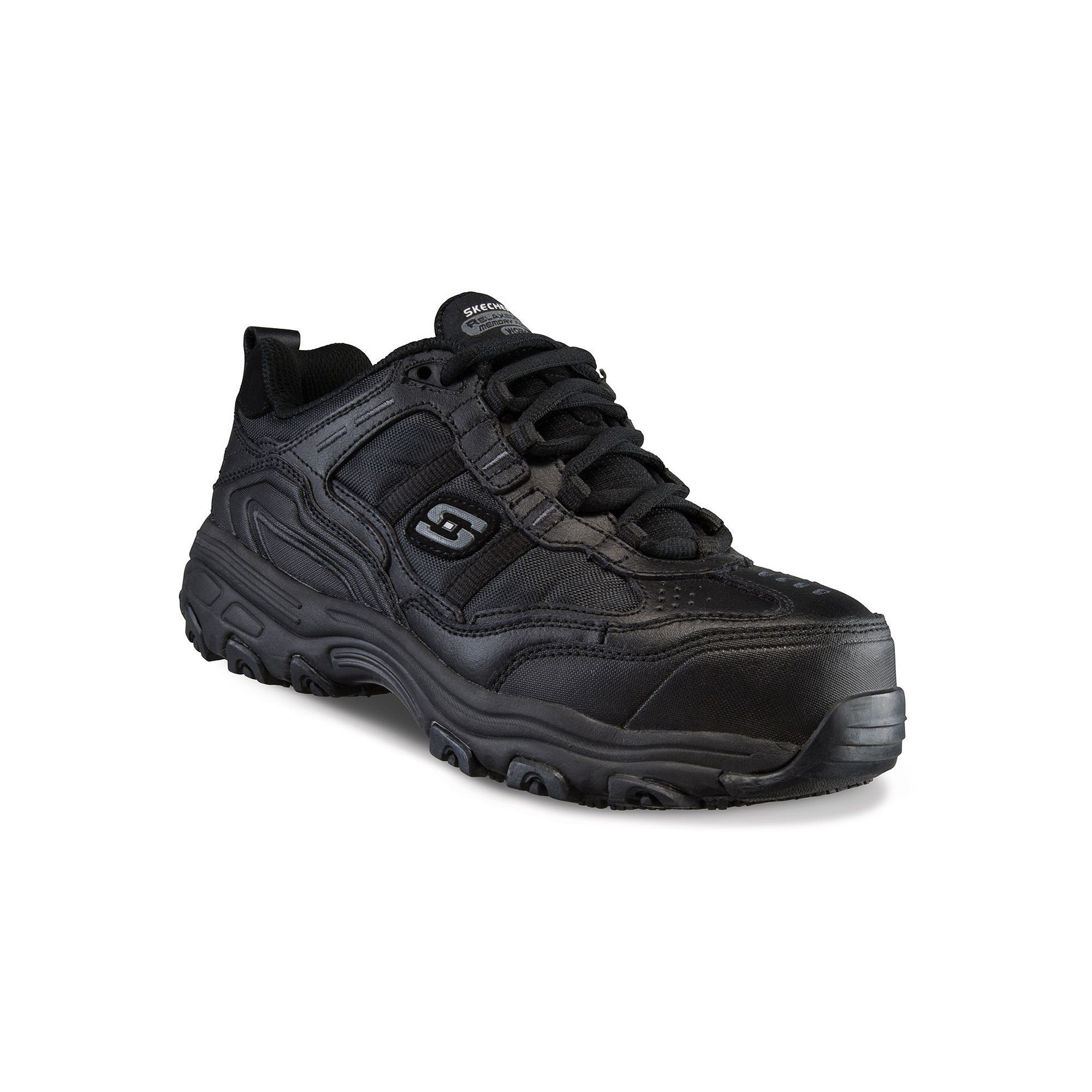 3f2be7be70d Skechers Work Relaxed Fit D'Lites SR Tolland Women's Composite Toe ...