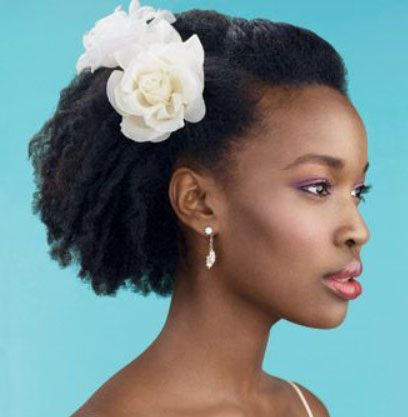 30 Bridal Hairstyles For Short Afro Hair Natural Hair Wedding Natural Wedding Hairstyles Curly Hair Styles Naturally